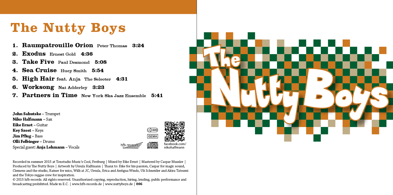 Nutty BoysCD-2